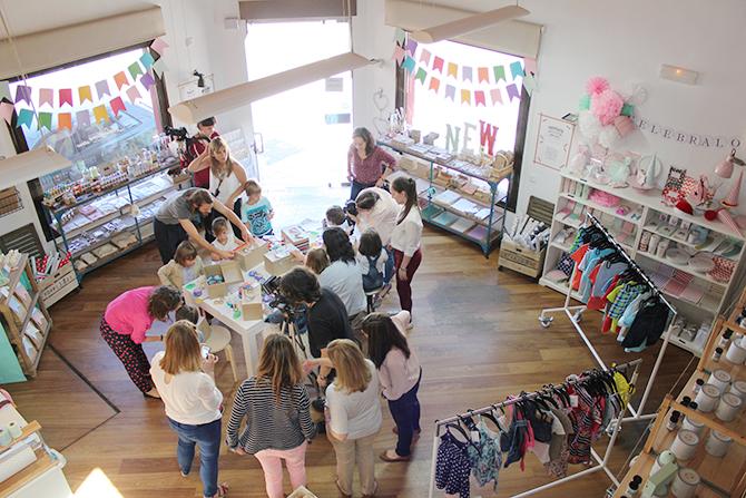 Nice Party H&M kids Holamama store Madrid